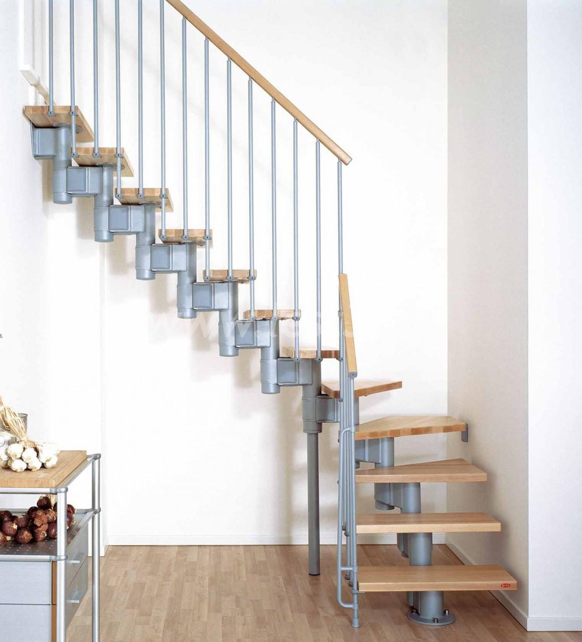 Простая одномаршевая лестница своими руками